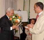 Soutien à l'éducation védique au Cambodge : avec Son Excellence l'Ambassadeur du Cambodge auprès des Nations Unies.